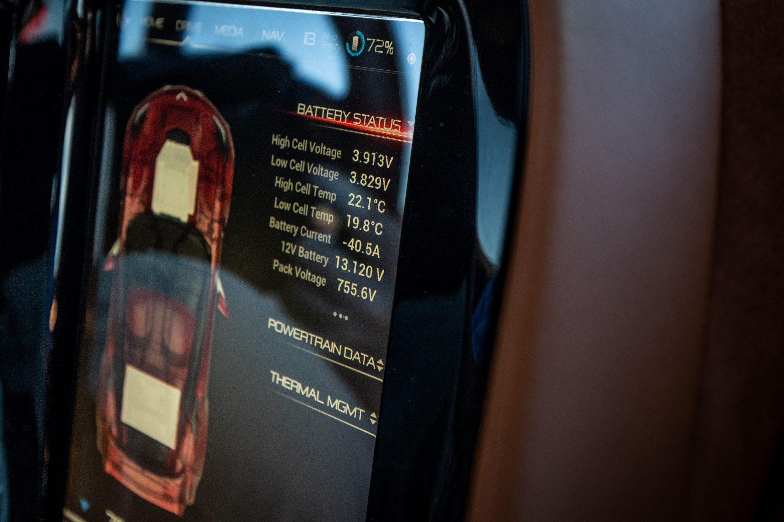 Genovation GXE C7 Corvette Digital Battery Monitoring