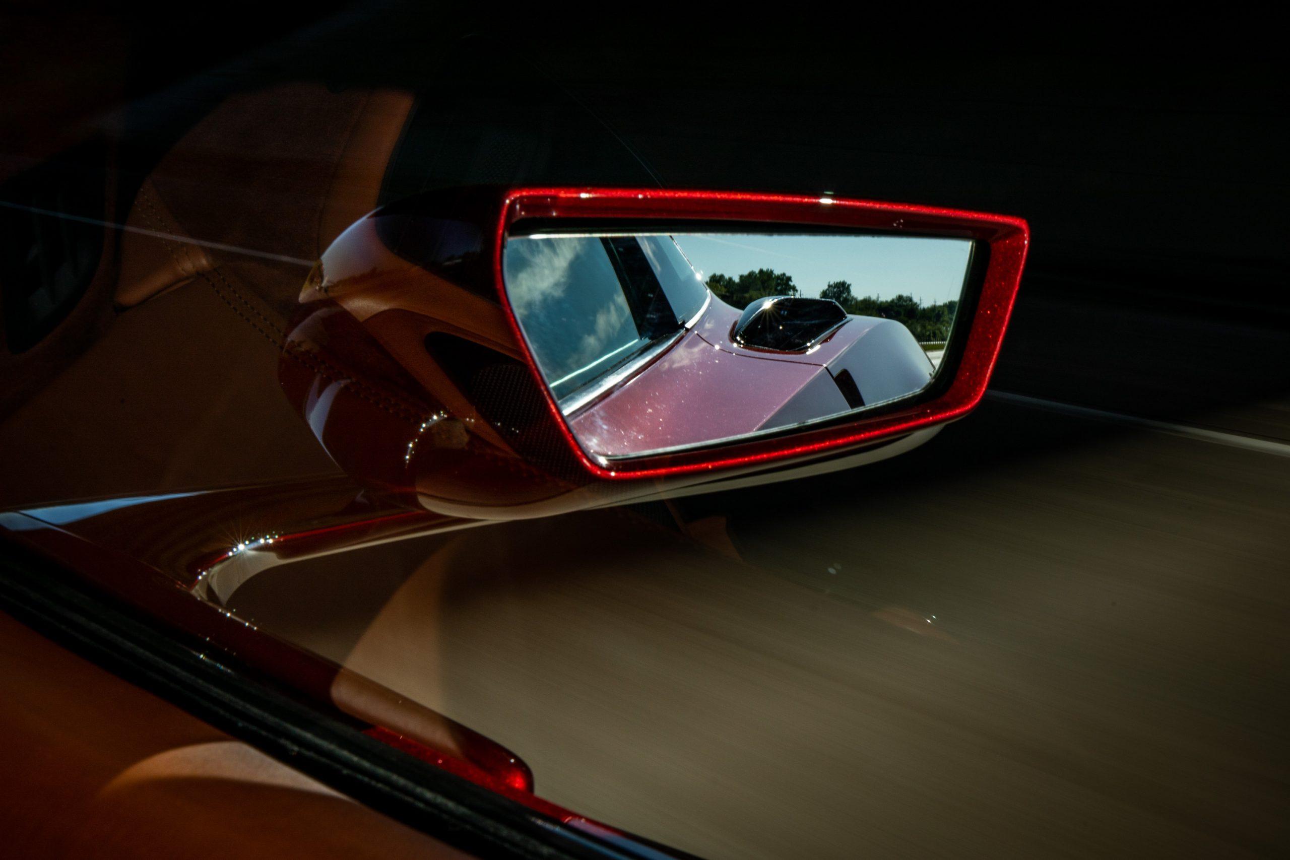 Genovation GXE C7 Corvette Side Mirror