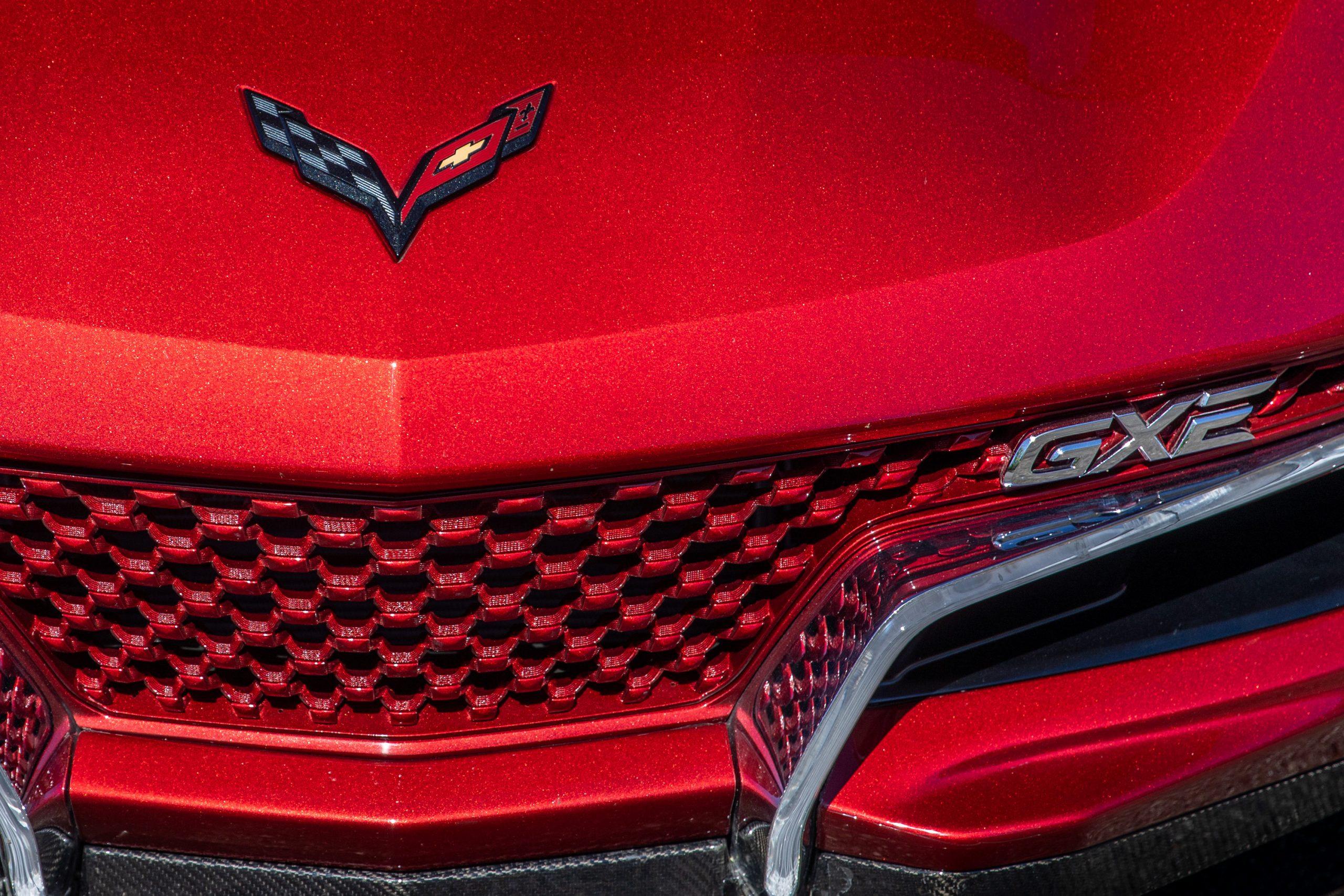 Genovation GXE C7 Corvette Emblems