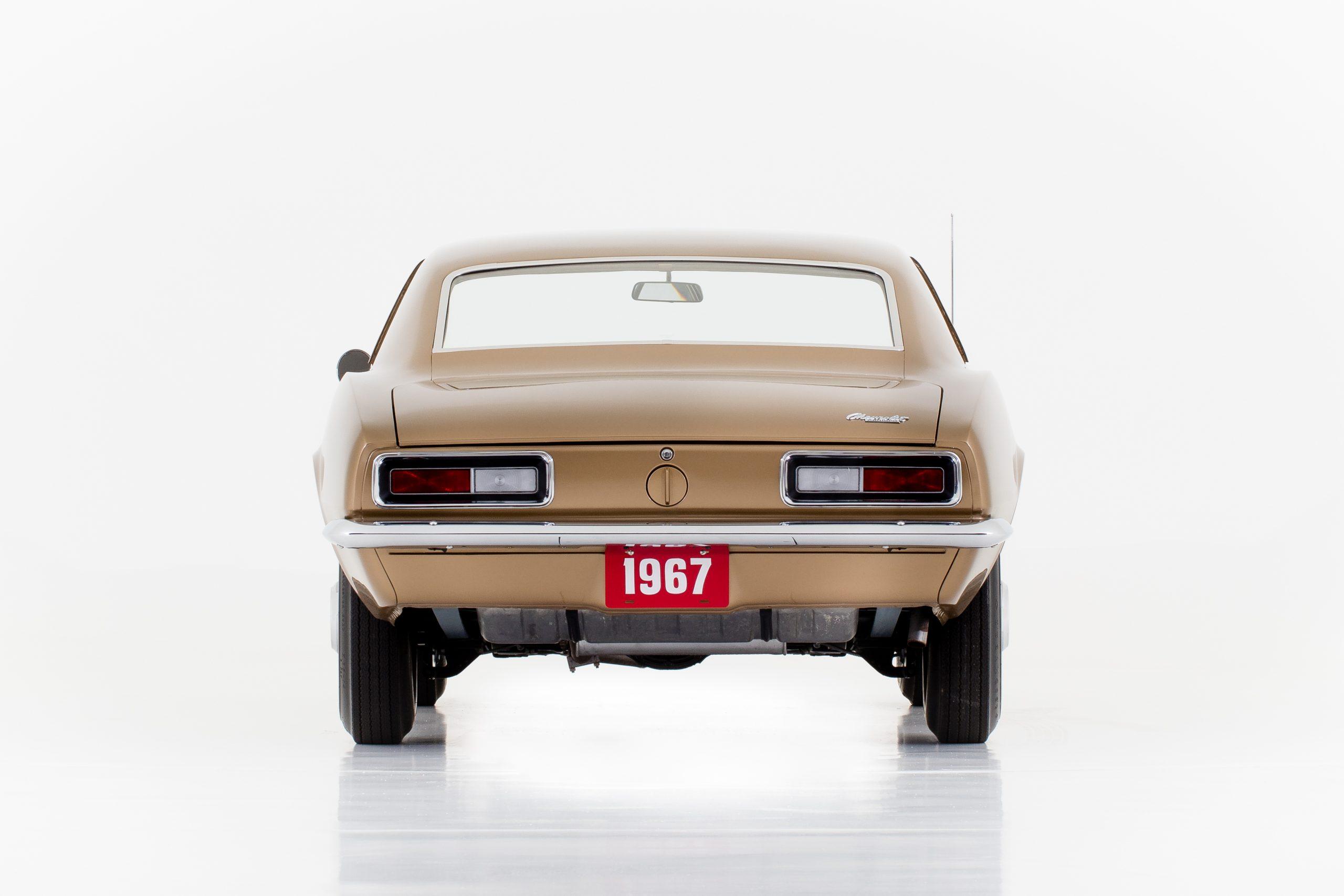 HVA - Chevrolet Camaro N100001 - full rear in studio