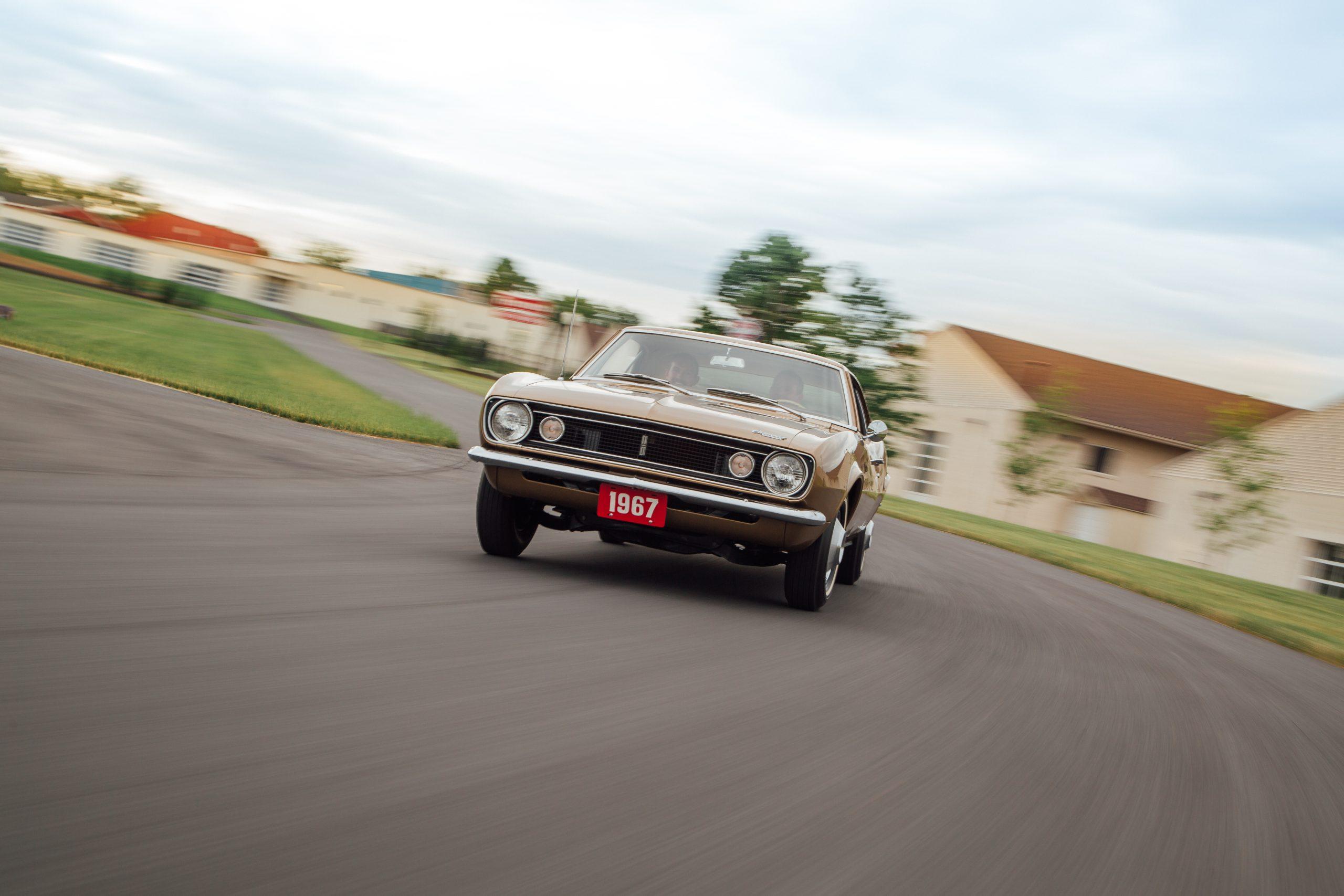 HVA - Chevrolet Camaro N100001 - full in motion