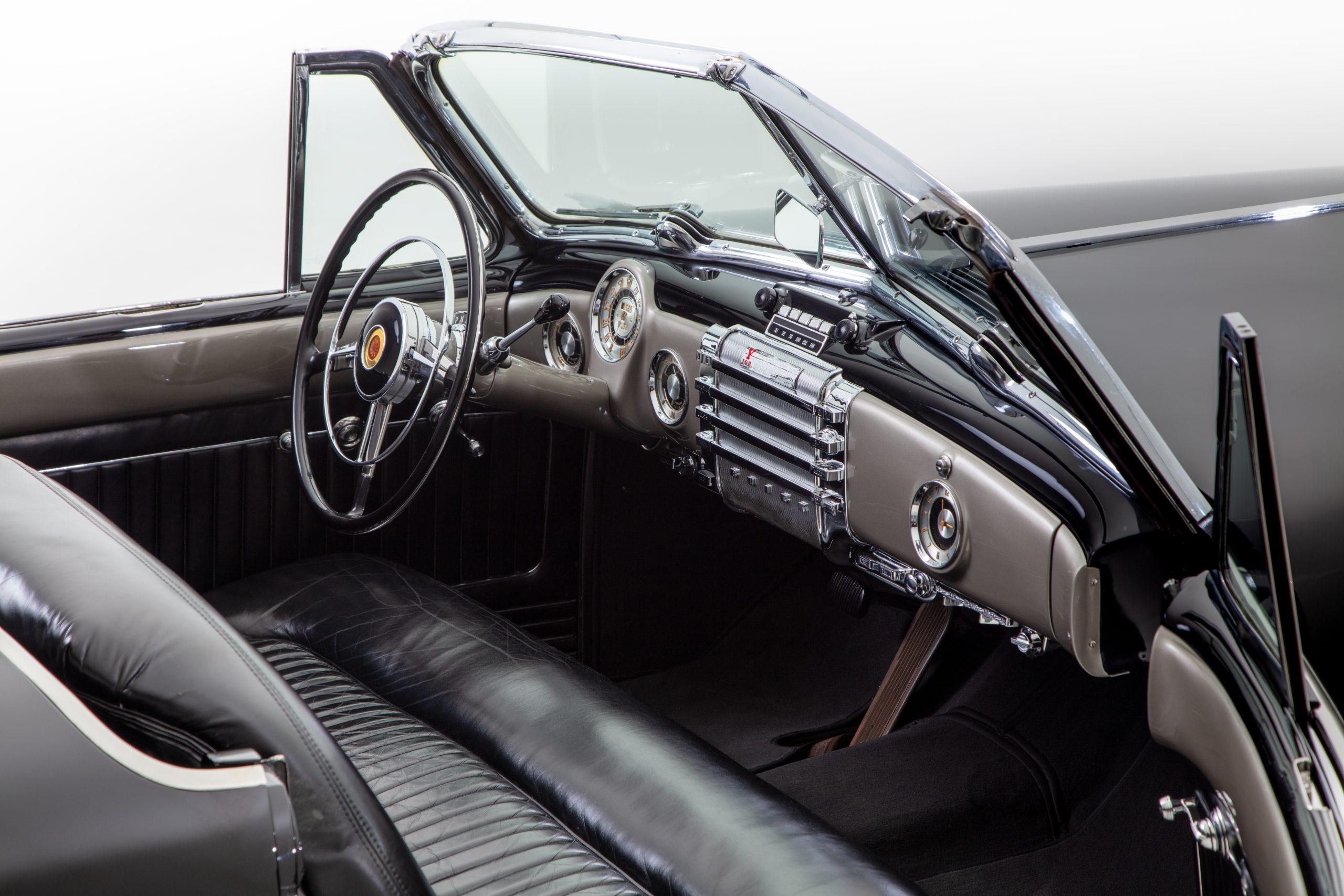 Buick Y-Job Interior Front Angle