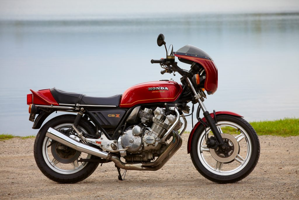 Honda CBX Side View