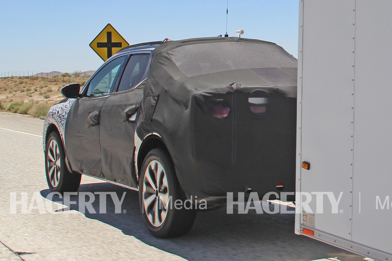 Hyundai Santa Cruz Pickup Rear Three-Quarter
