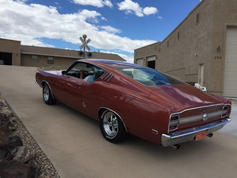 1969 Ford Fairlane Torino Cobra SportsRoof