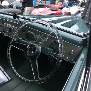1949 Delahaye 135M Cabriolet by Guilloré Steering Wheel