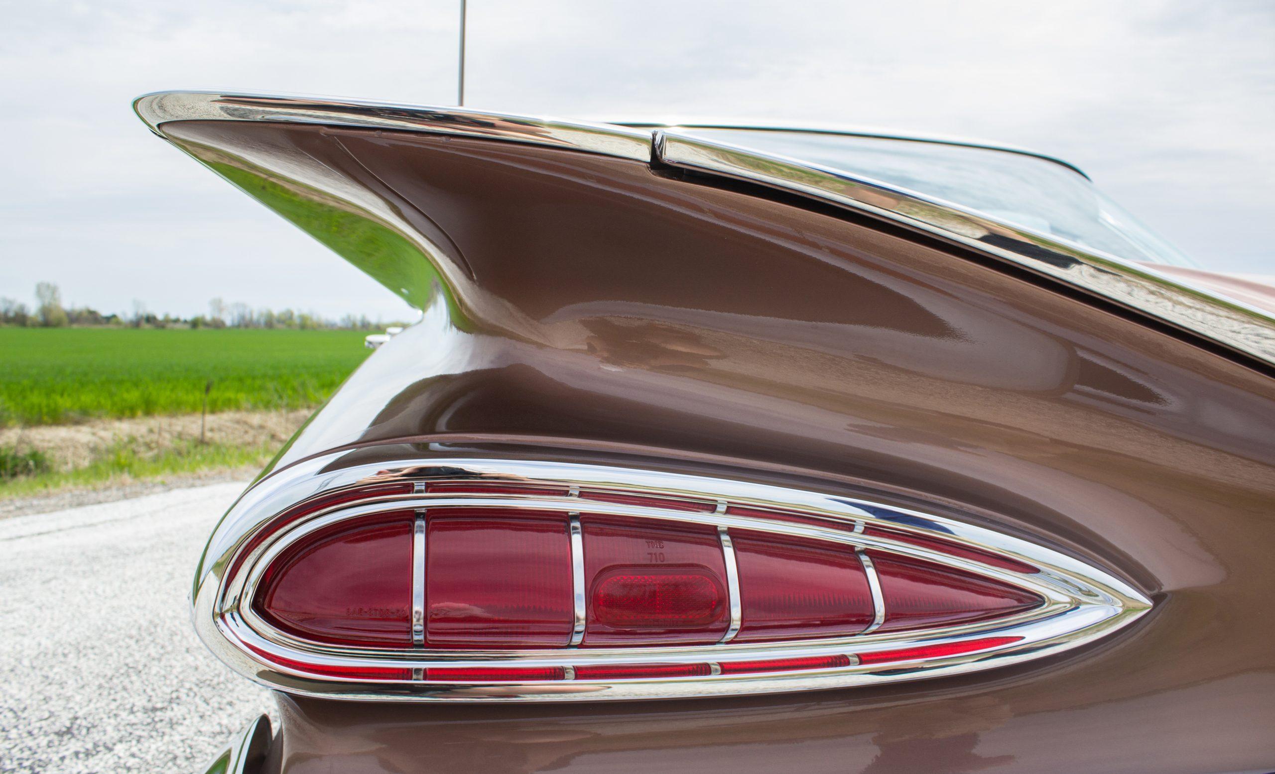 1959 Chevrolet Bel Air tail fin