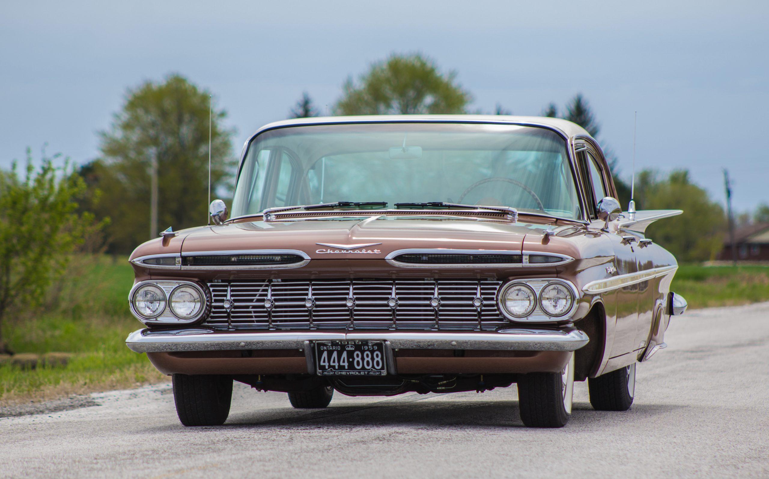 1959 Chevrolet Bel Air front