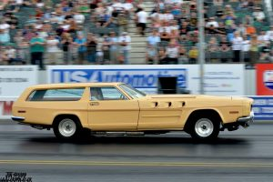 The Beast by John Dodd Side Profile Drag Race Action