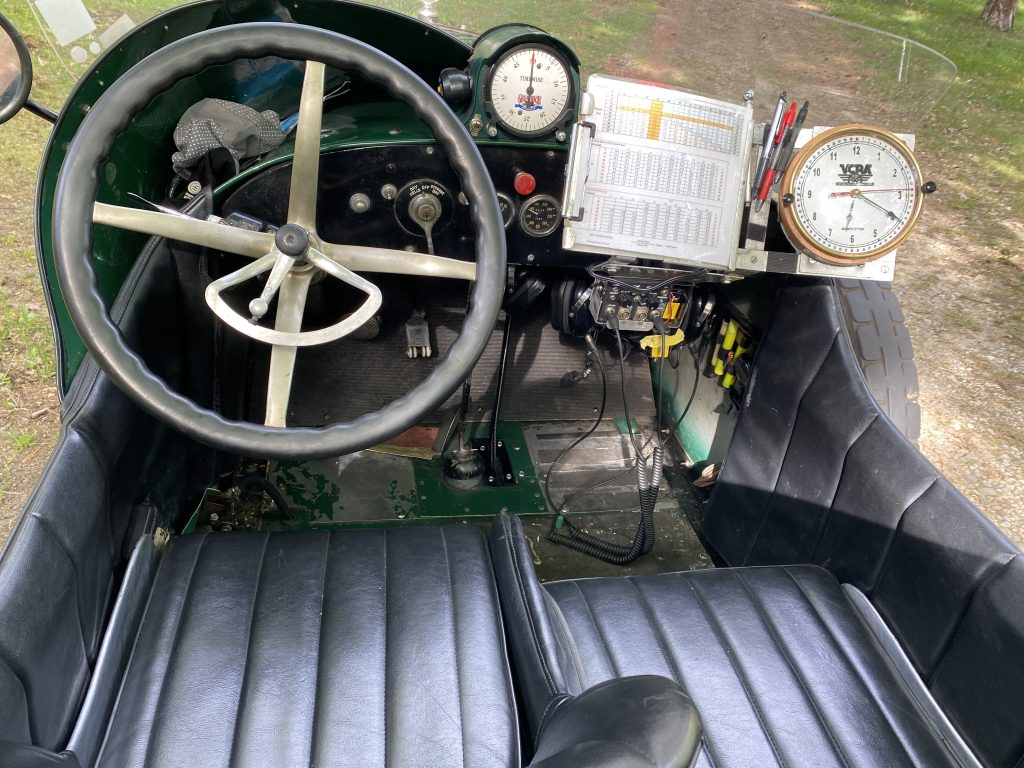1917 Peerless Green Dragon Cockpit