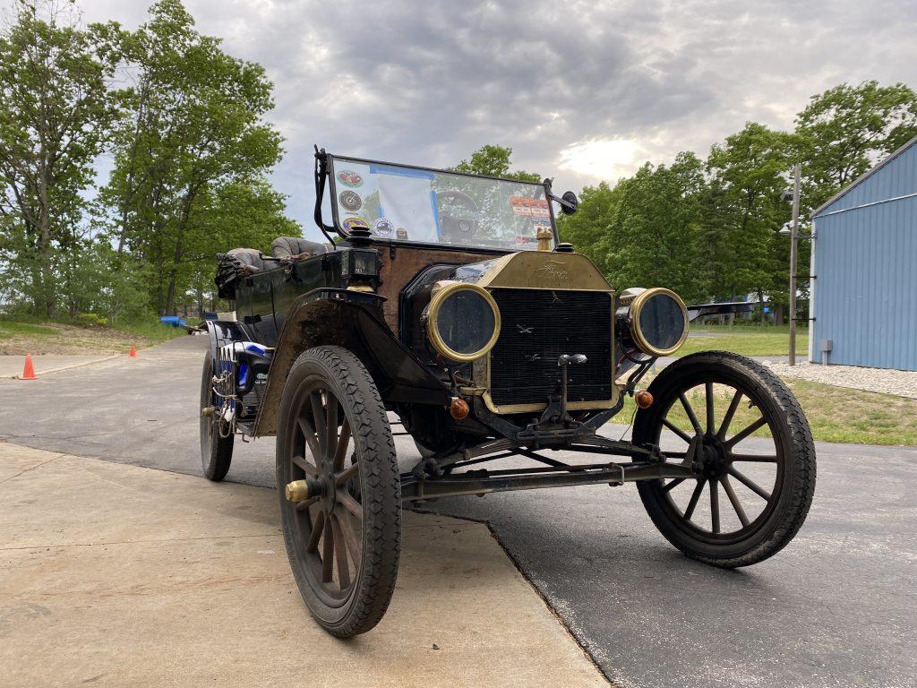 front three quarter of Seamus Hnat's Model T Ford