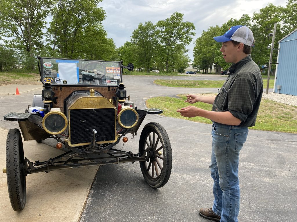 Seamus Hnat talking about his Model T