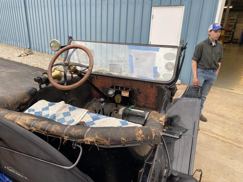 Model T interior
