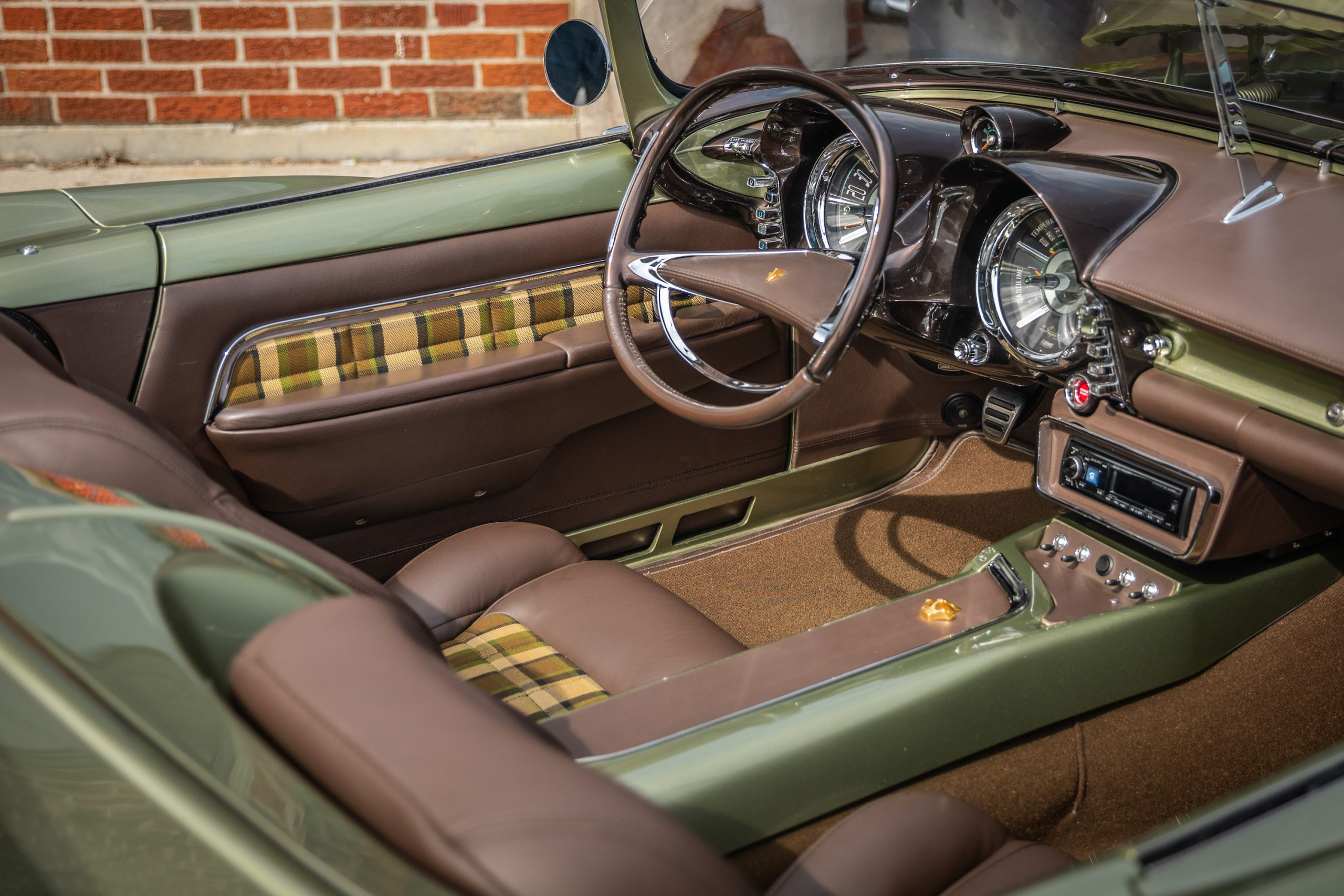 Imperial Speedster Interior Front