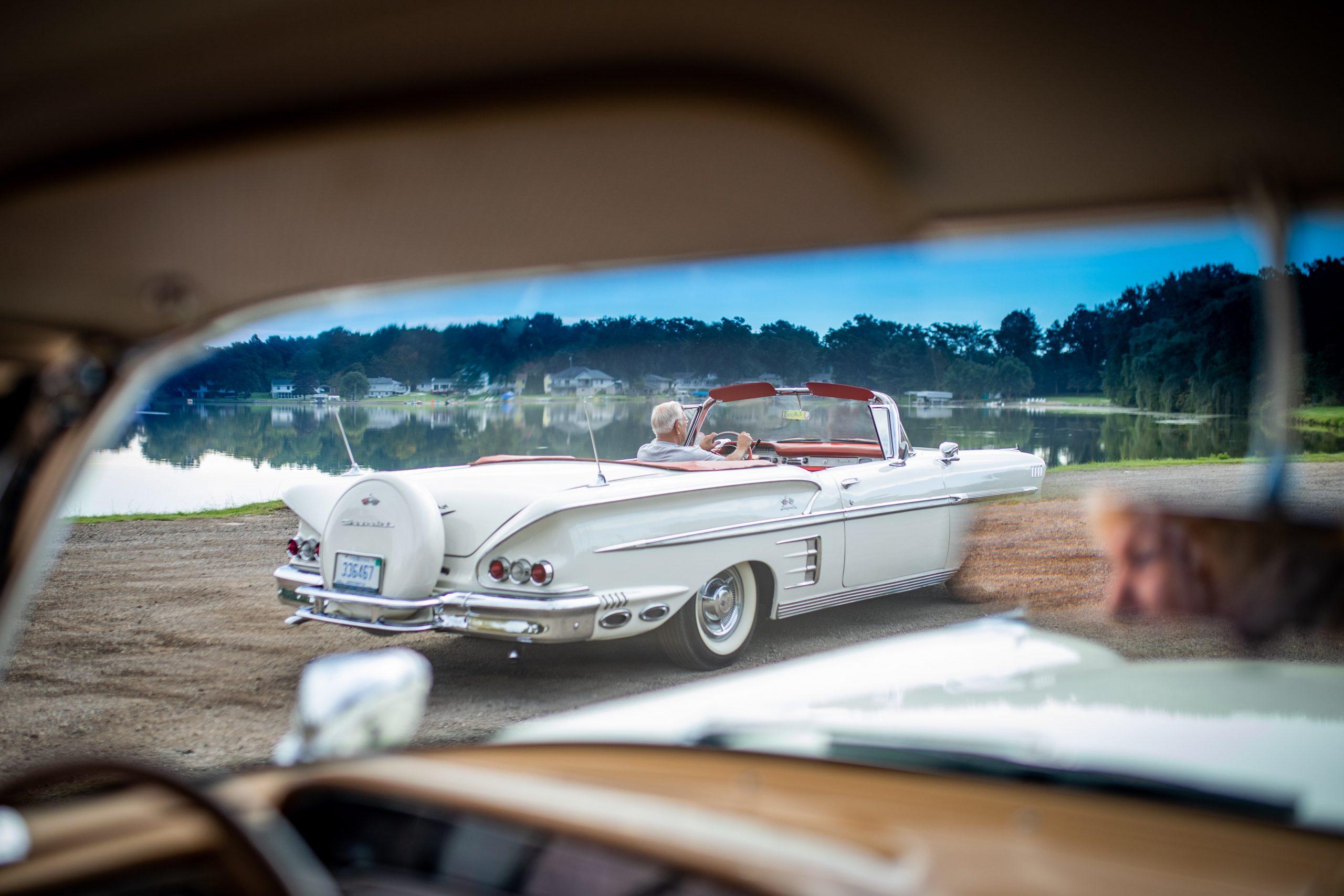 1958 Chevrolet Impala Rear Three-Quarter Lakeside