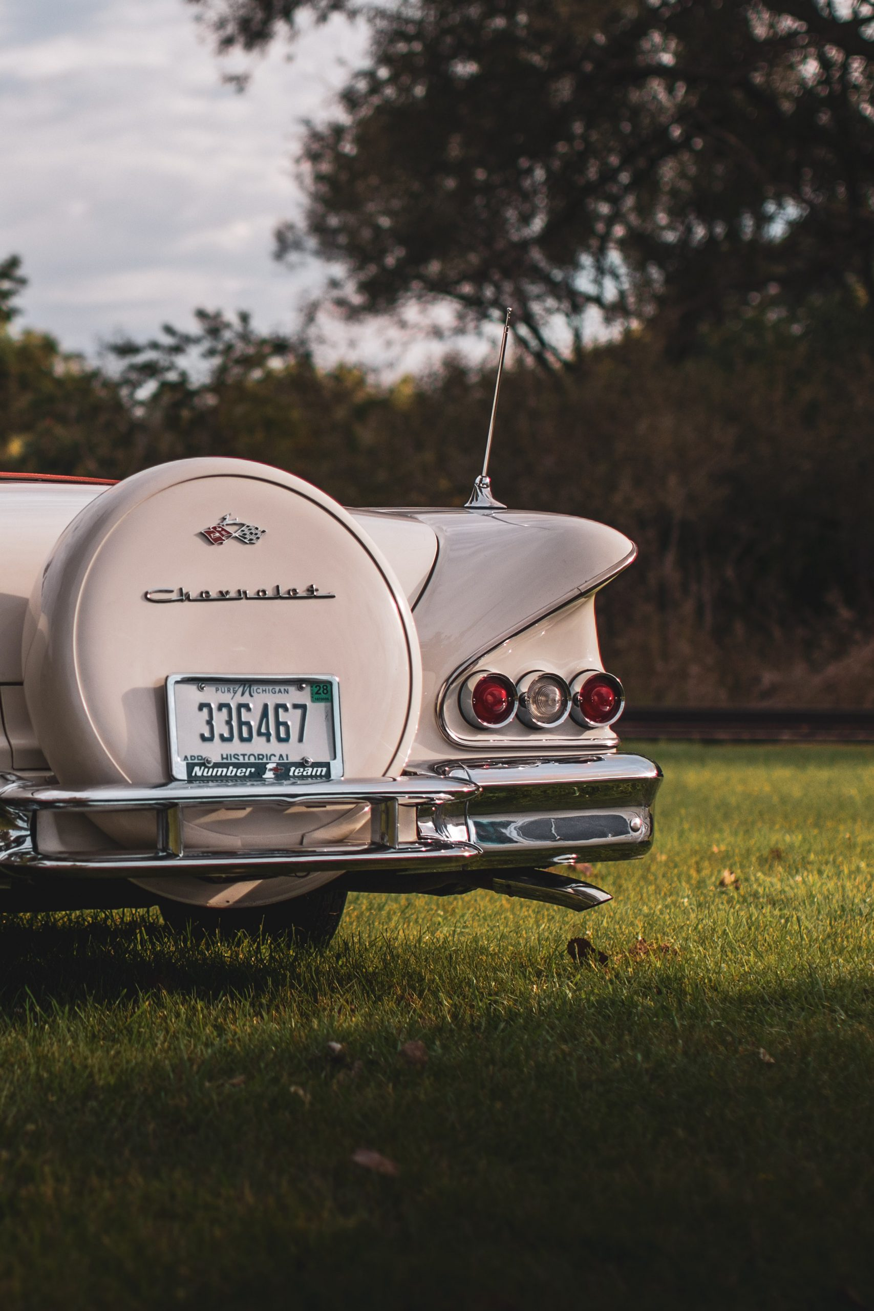 1958 Chevrolet Impala Convertible Spare Tire Cover