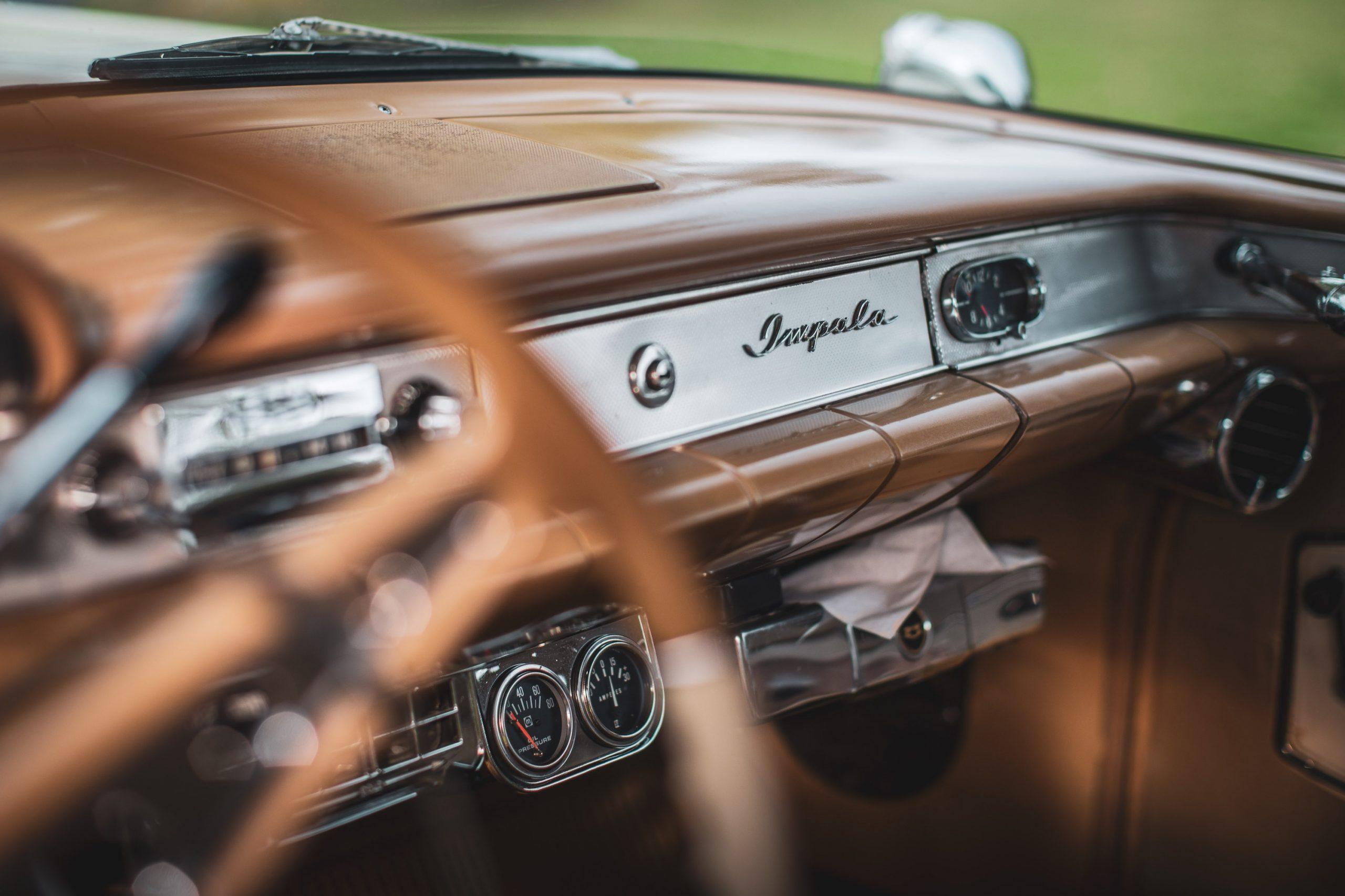 1958 Chevrolet Impala Dash Glove Box