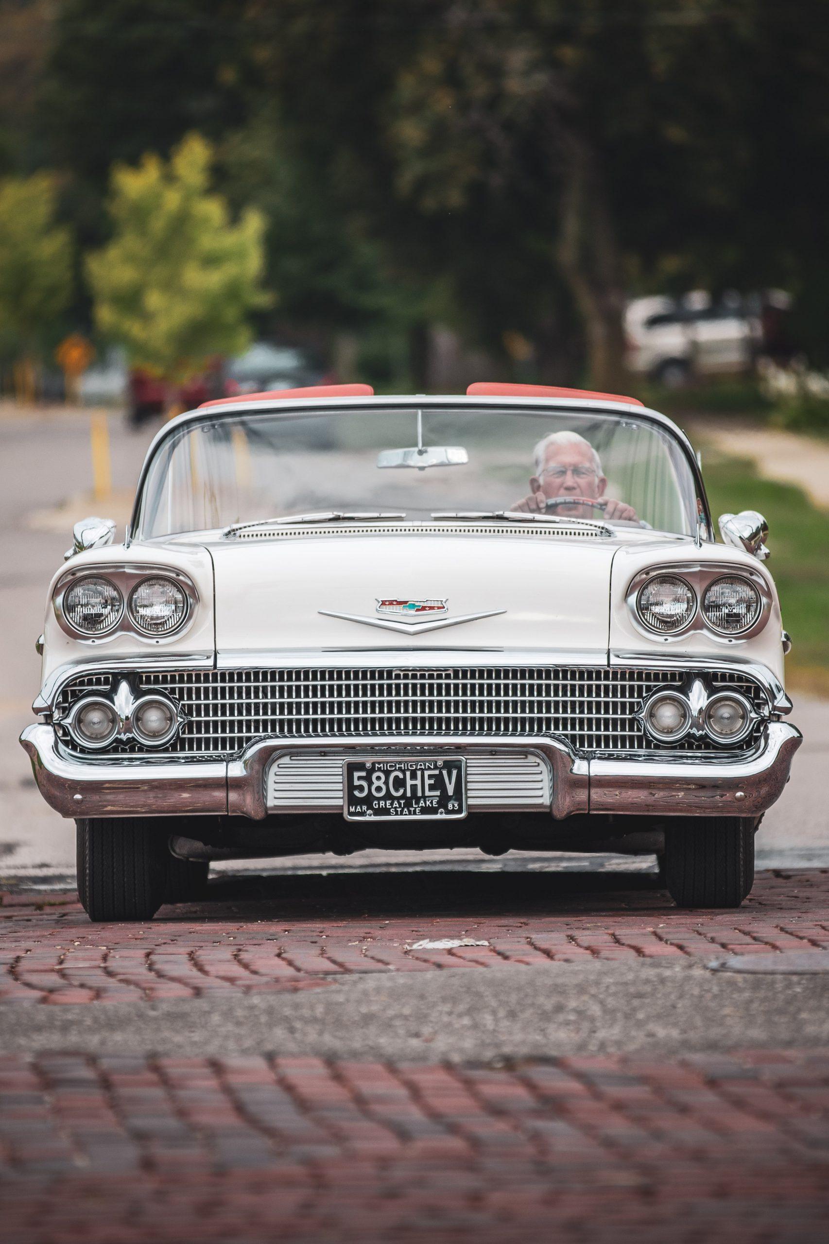 1958 Chevrolet Impala Convertible Front