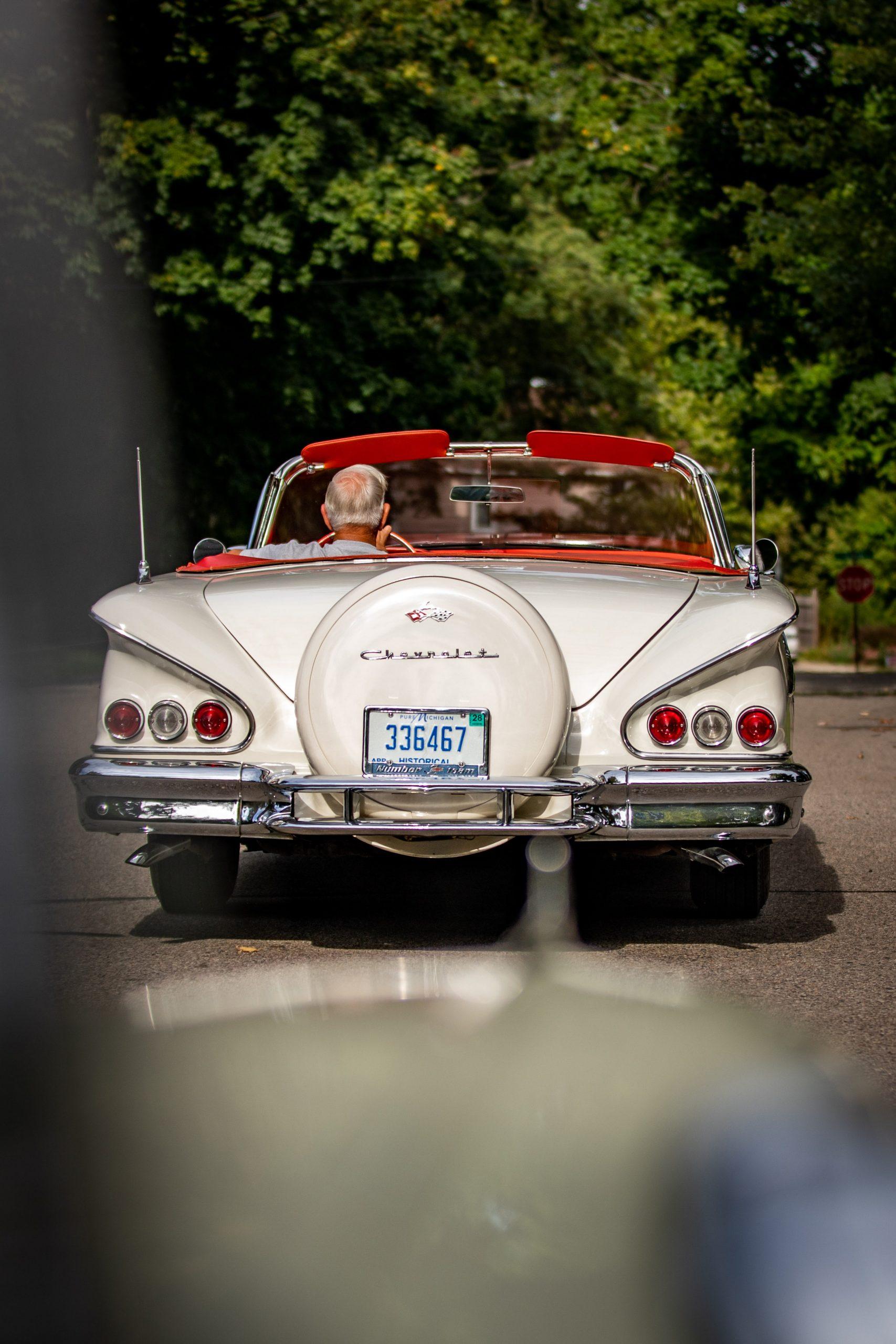 1958 Chevrolet Impala Convertible Rear