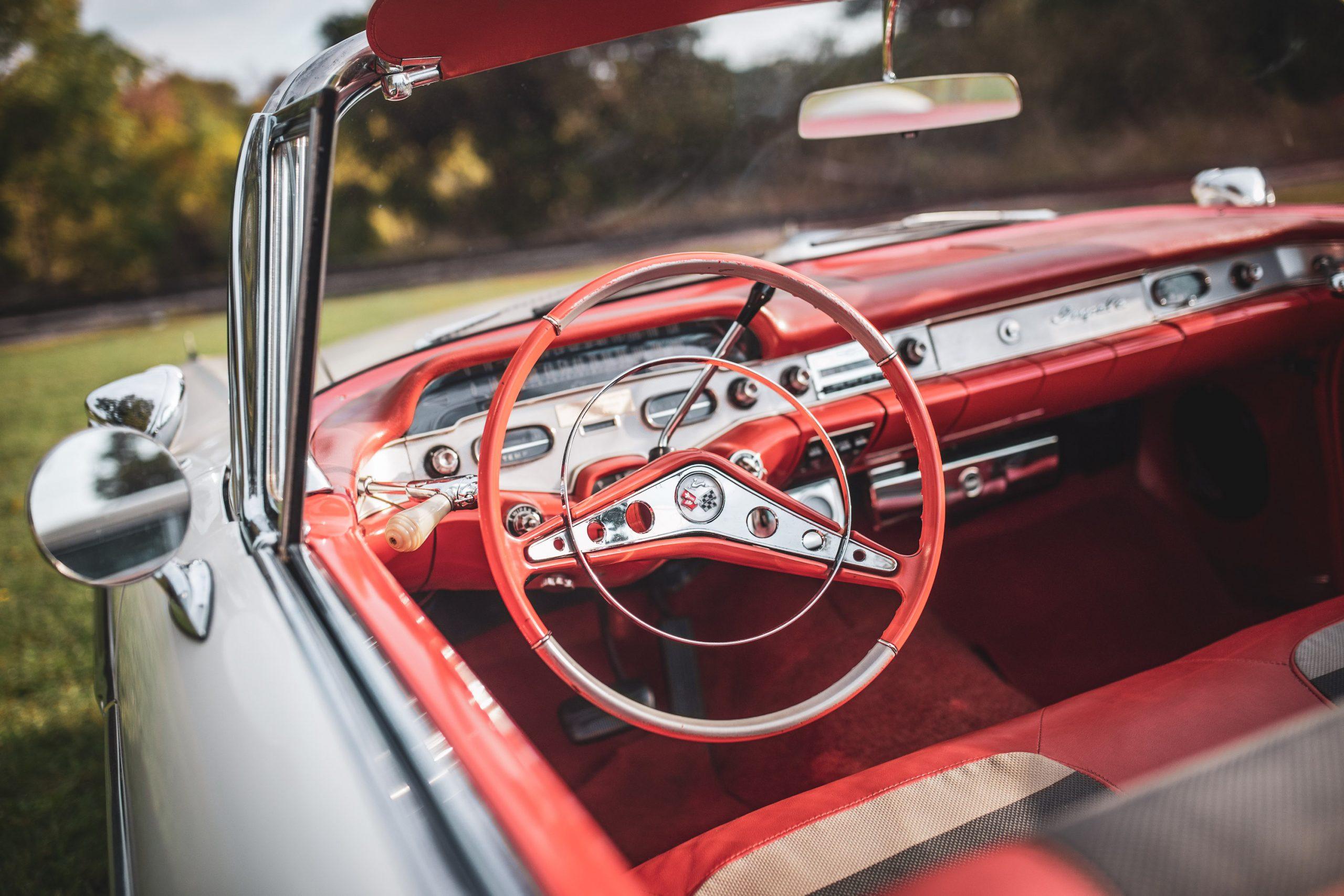 1958 Chevrolet Impala Convertible Steering Wheel
