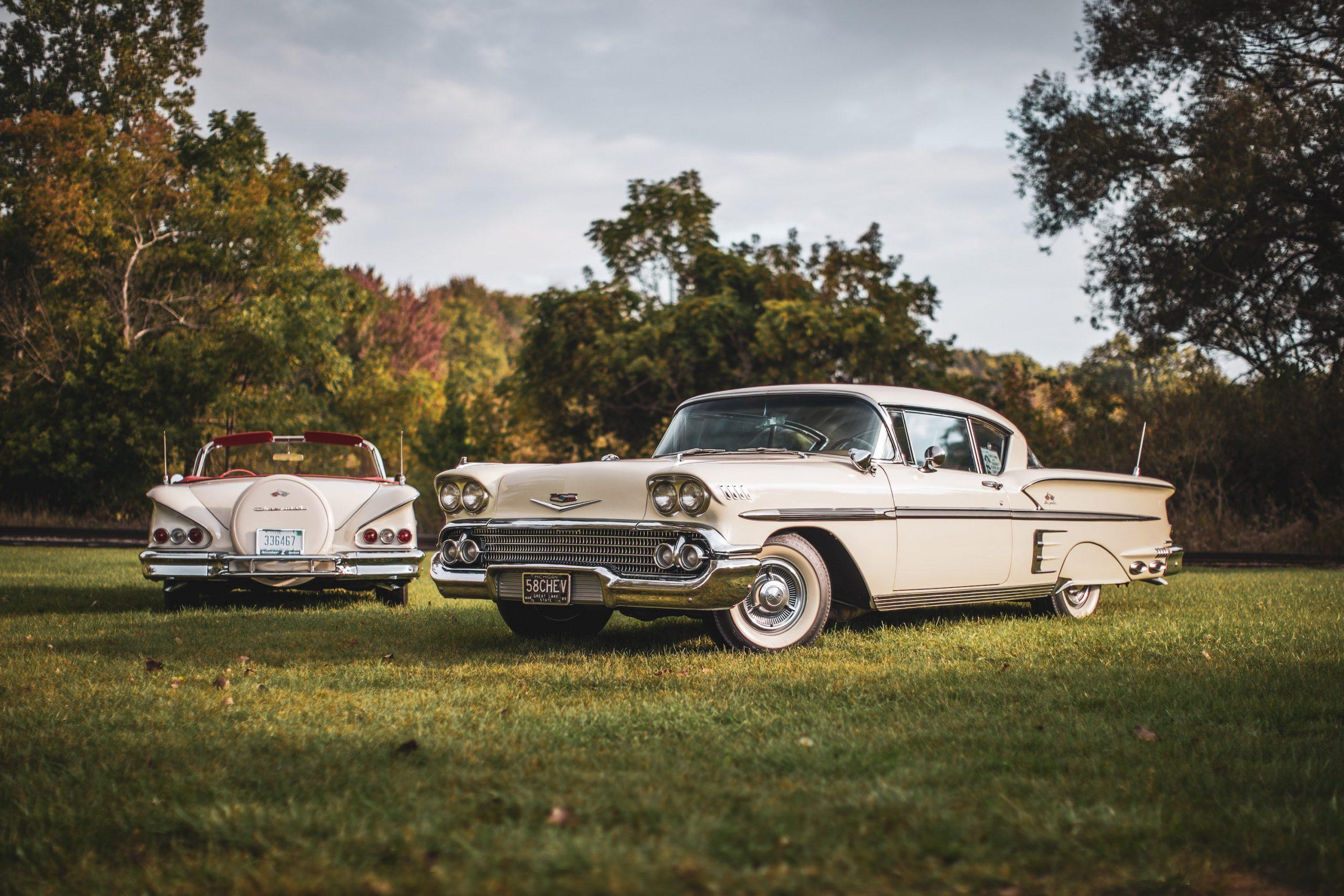 1958 Chevrolet Impalas