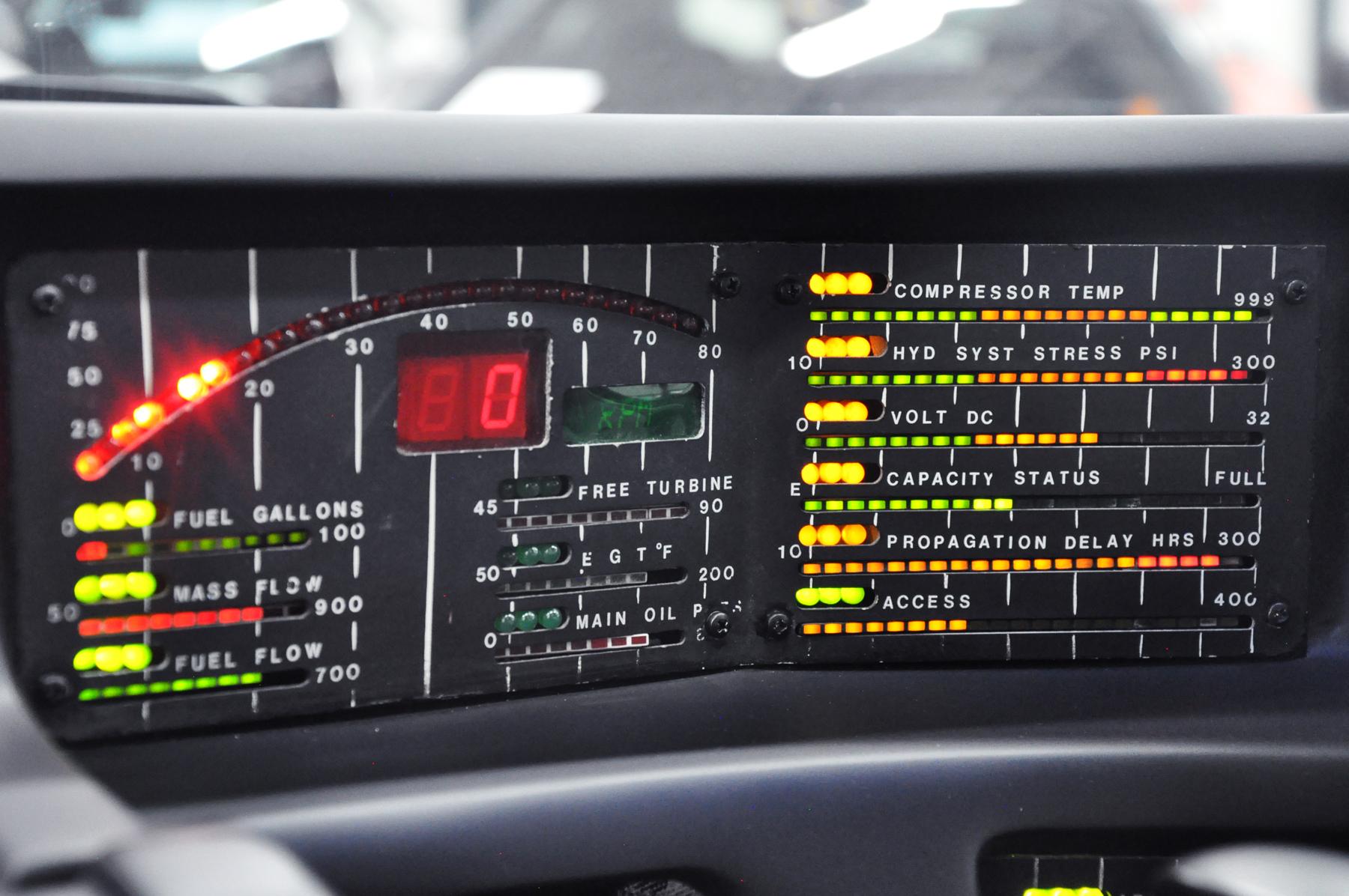 KITT - 1982 Pontiac Firebird Trans Am - Closeup speedometer