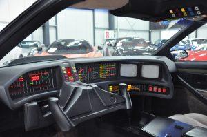 KITT - 1982 Pontiac Firebird Trans Am - Drivers side interior closeup