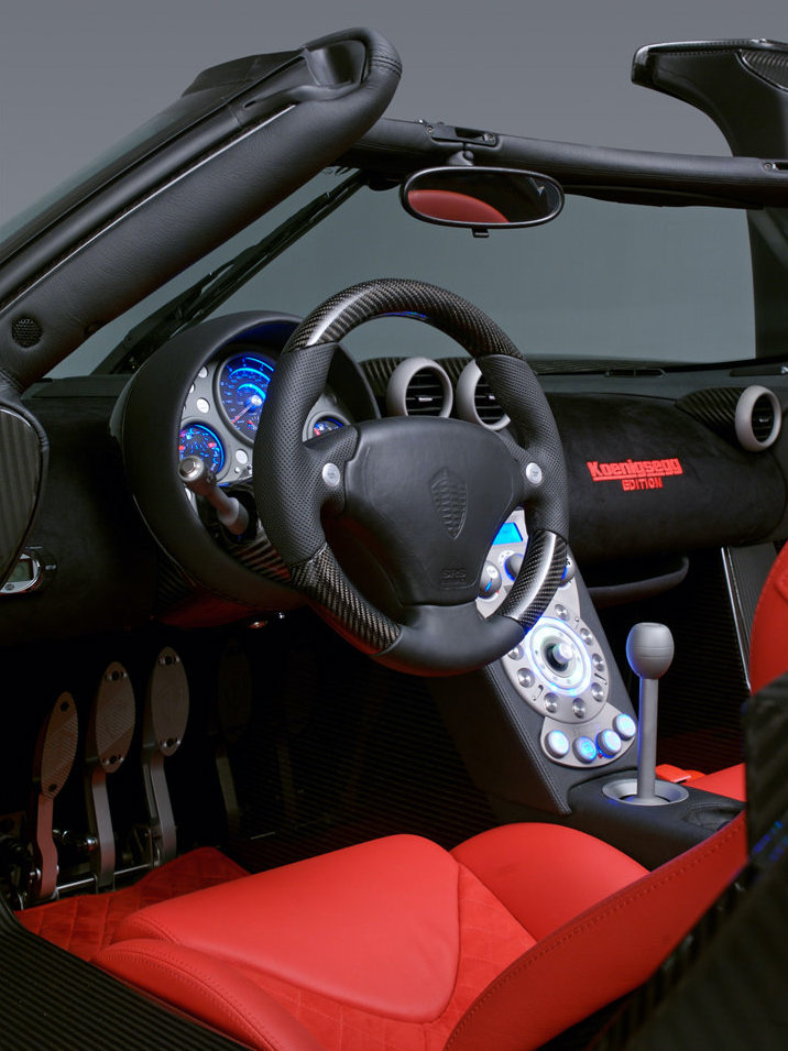 2008 Koenigsegg CCXR Edition interior