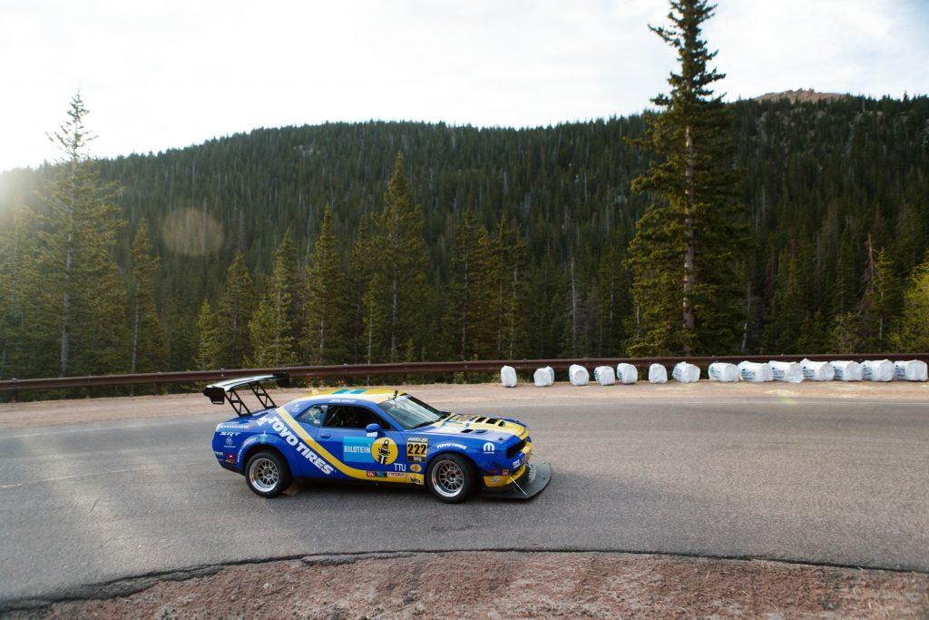 Wesley Motorsports Challenger Pikes Peak 2019 cornering