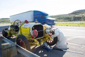 1918 American LaFrance Speedster Roadside Repair