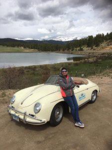 Lilly Pray - 1959 Porsche Convertible D