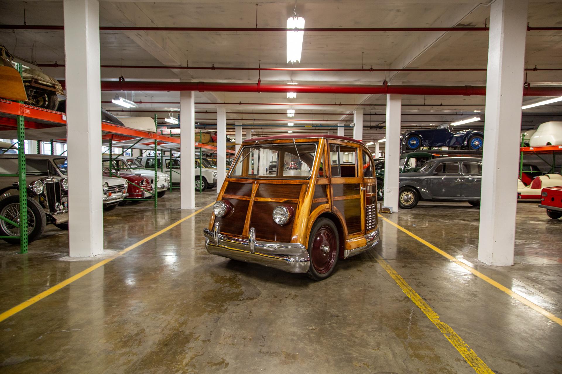 Martin Stationette Front Three-Quarter In Garage Center