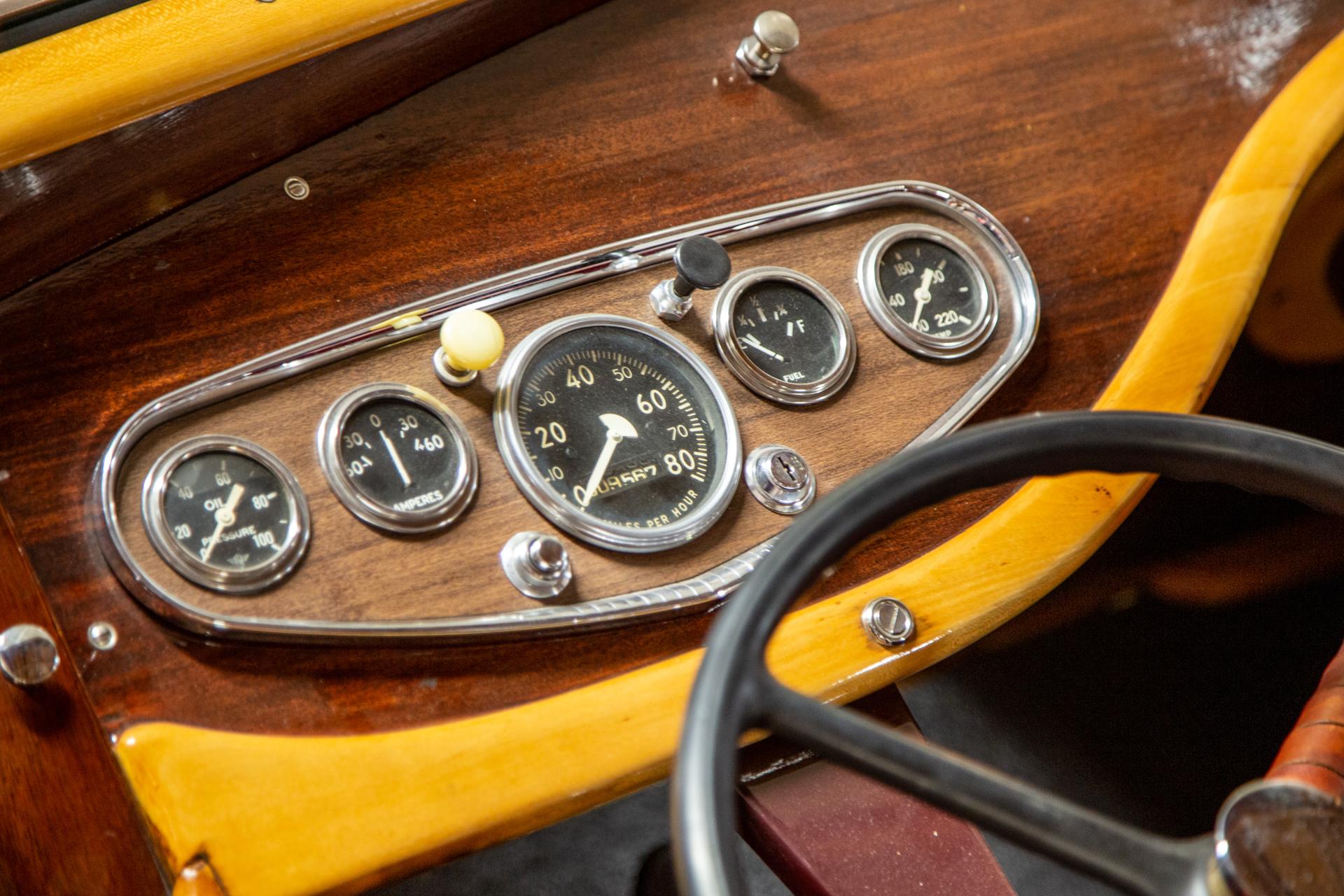 Martin Stationette Interior Dash Gauges