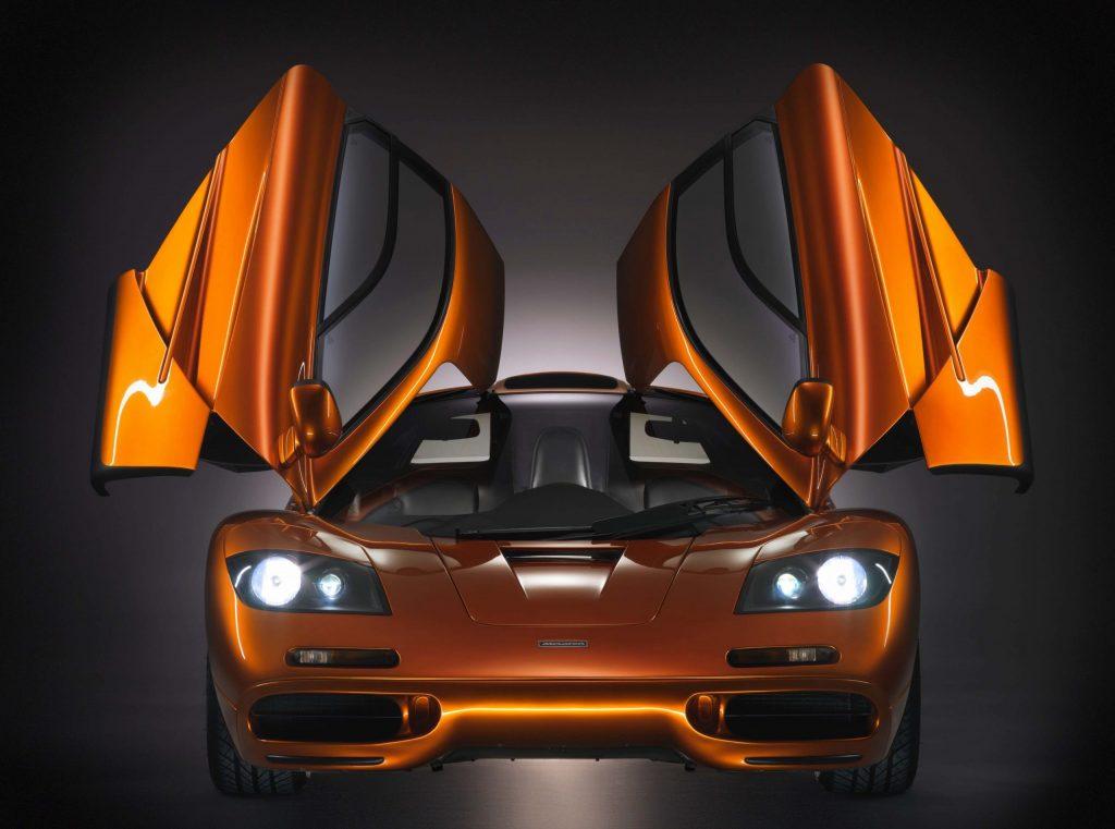 McLaren F1 Front Doors Up