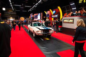 Mecum Kissimmee Summer Announcement stage