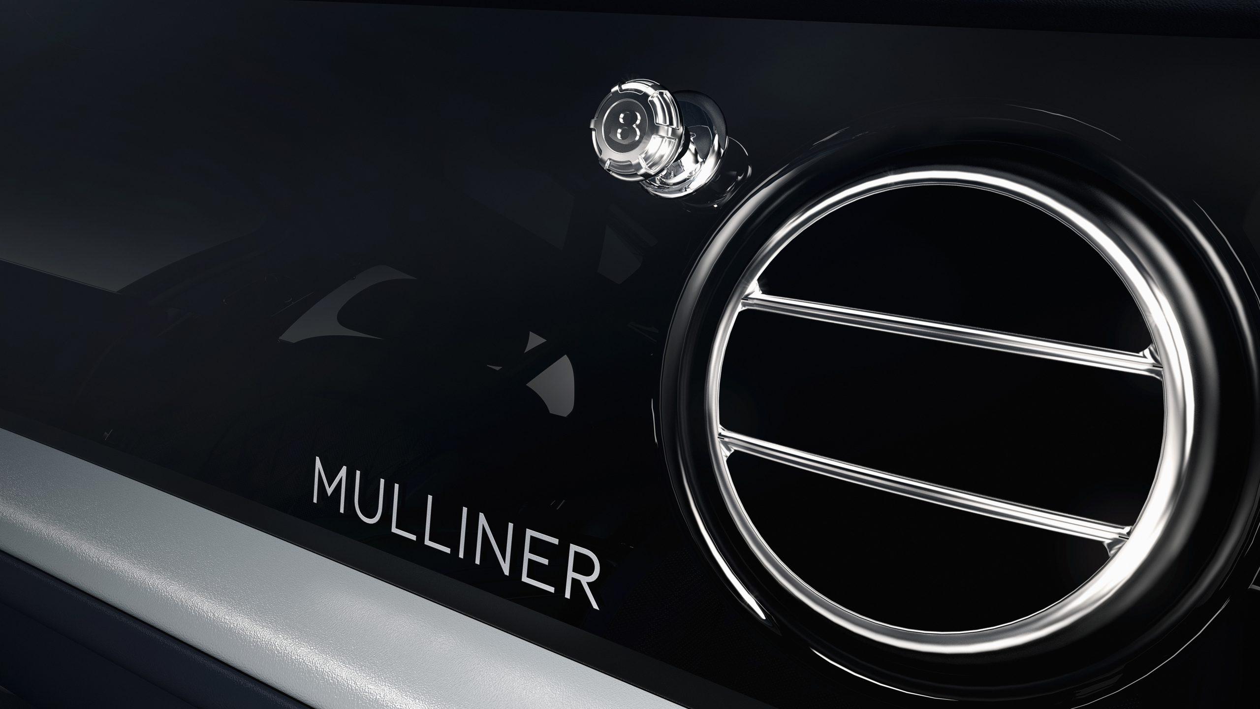 Bentley Mulsanne 6.75 Edition by Mulliner organ stop