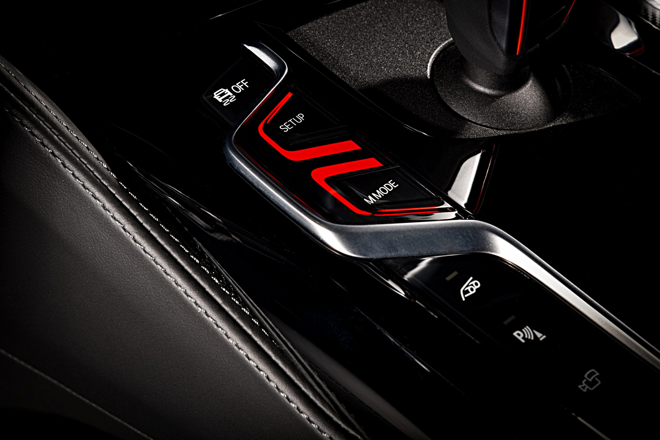 2021 BMW M5 Competition M button