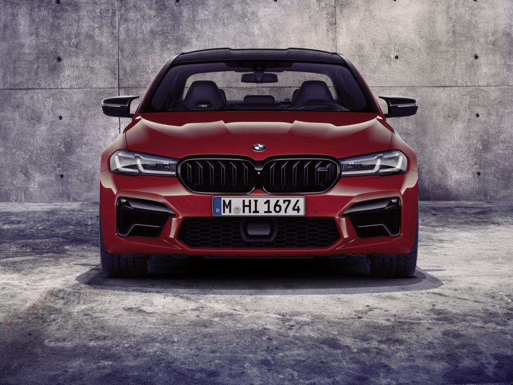 2021 BMW M5 Competition front end