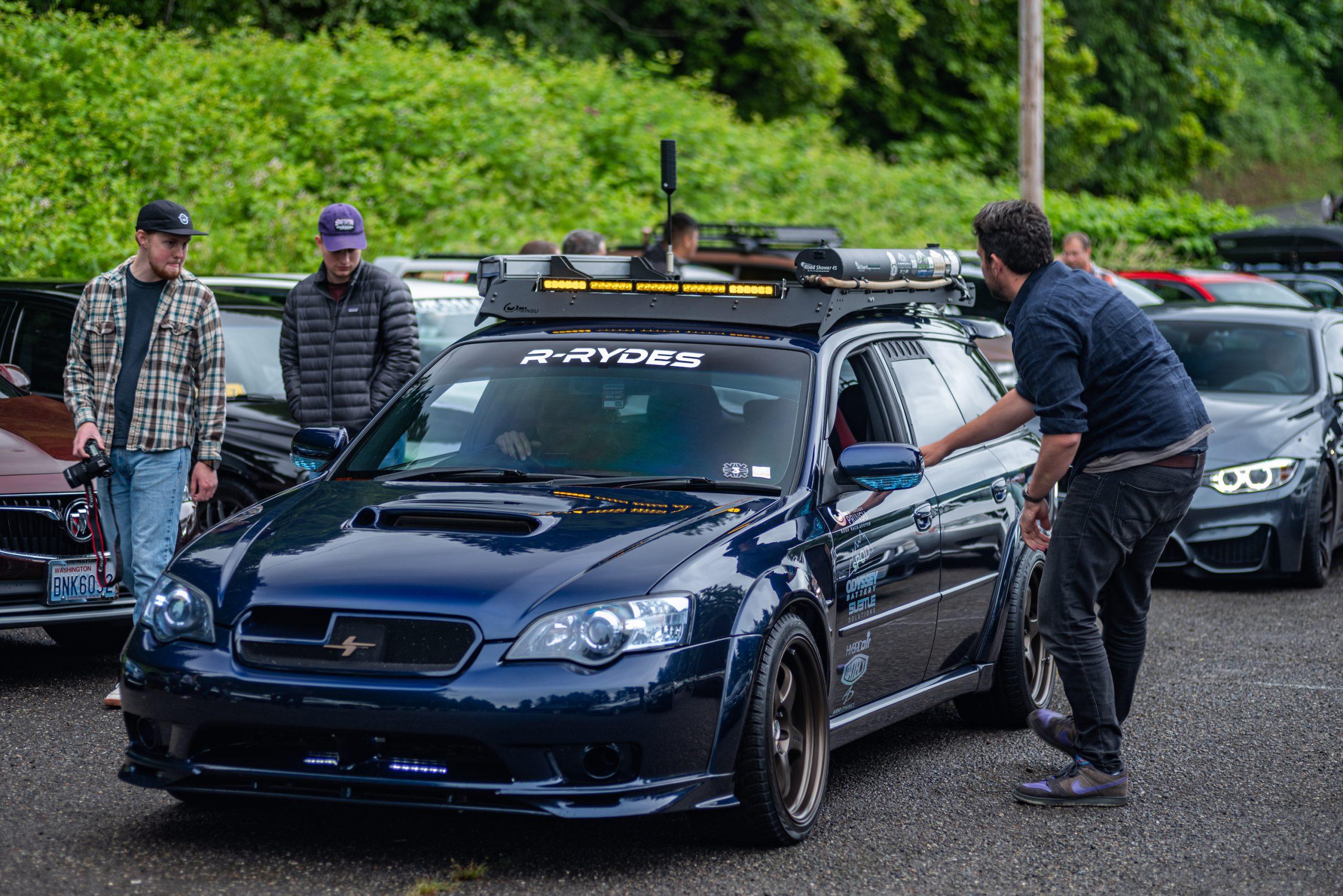 Subaru Legacy Tuner Wagon Front Three-Quarter