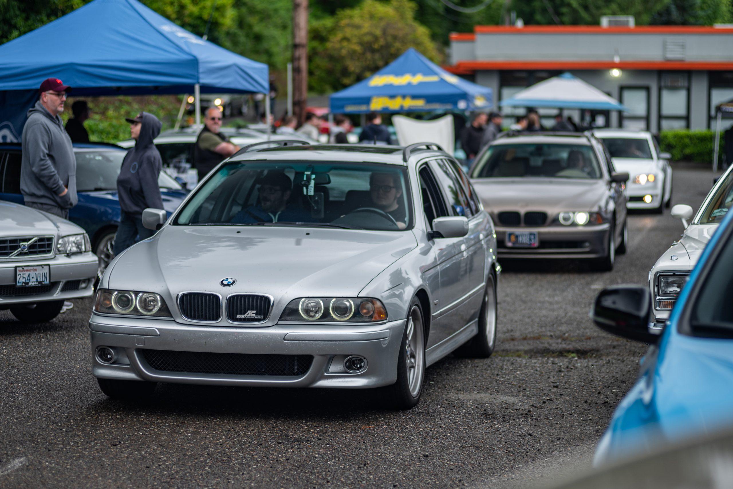 BMW Wagons Rolling Through Festival