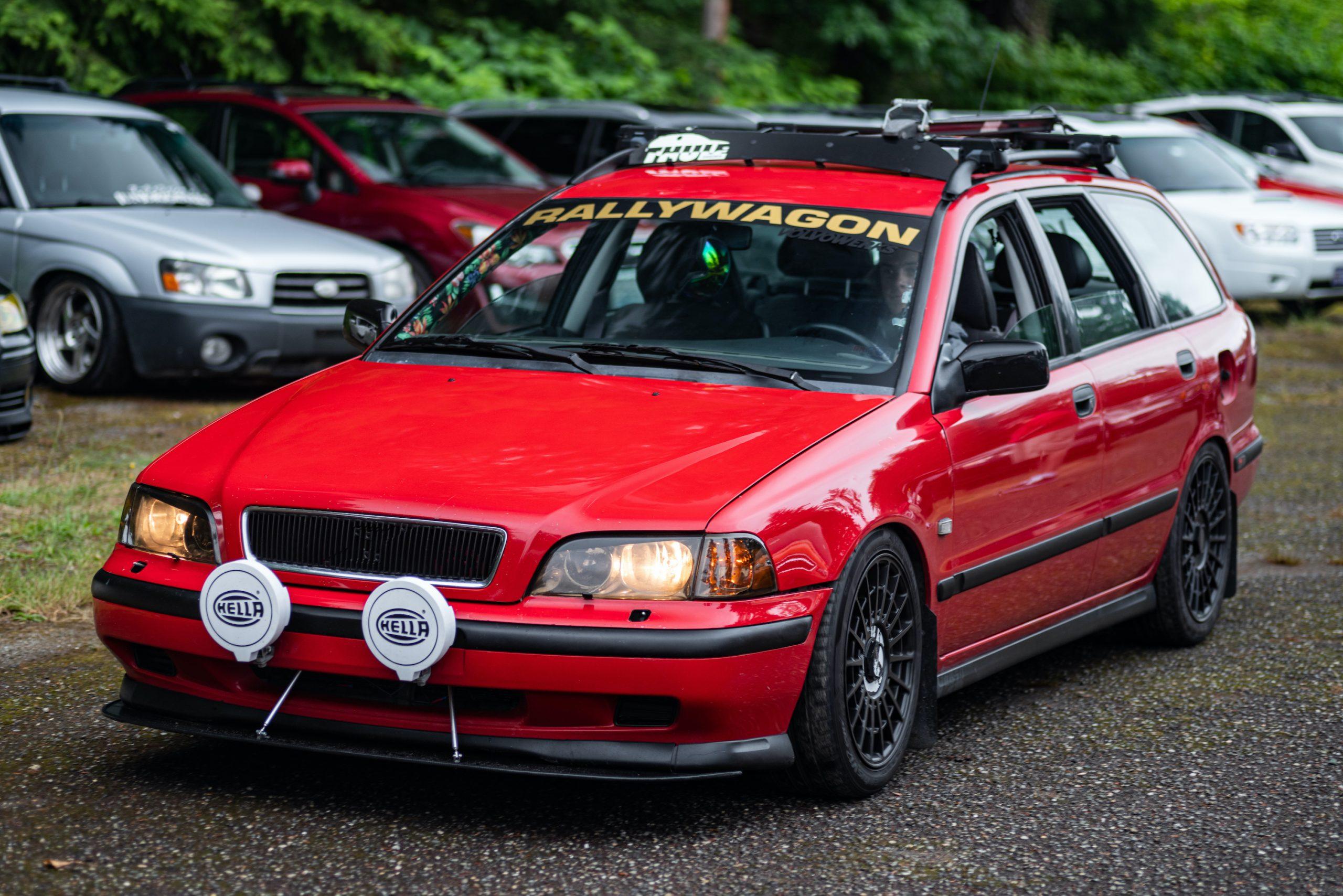 Volvo Rally Wagon Front Three-Quarter