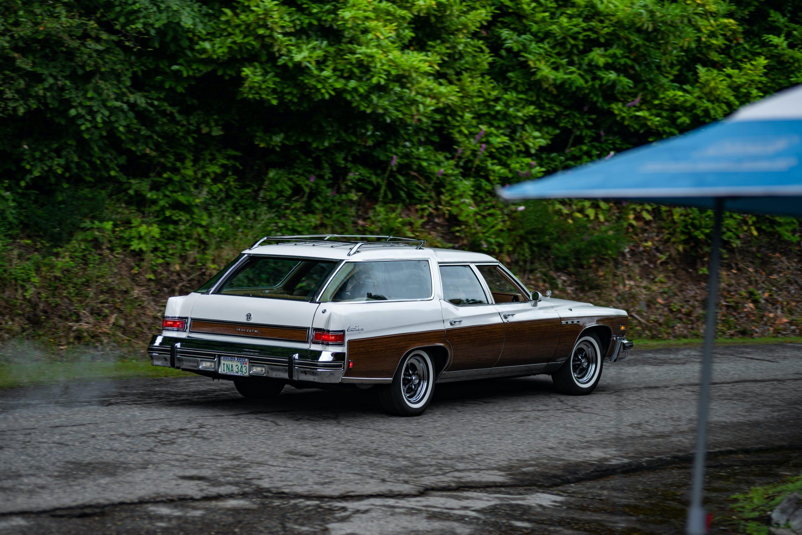 Buick Wagon Rear Three-Quarter