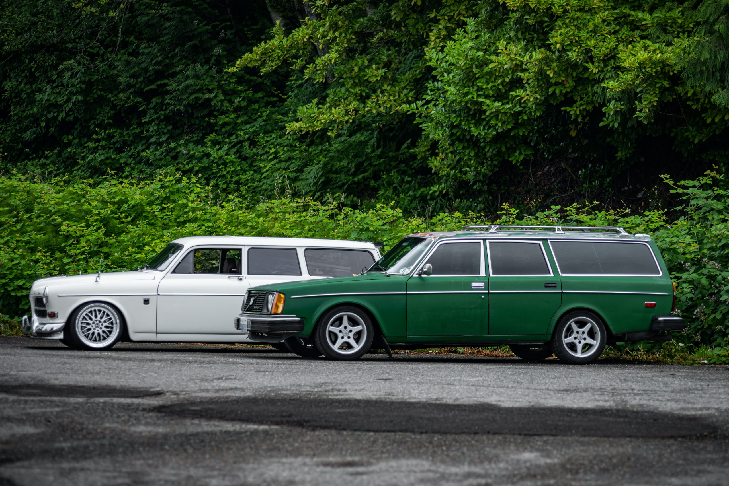 Volvo Wagons Side Profile