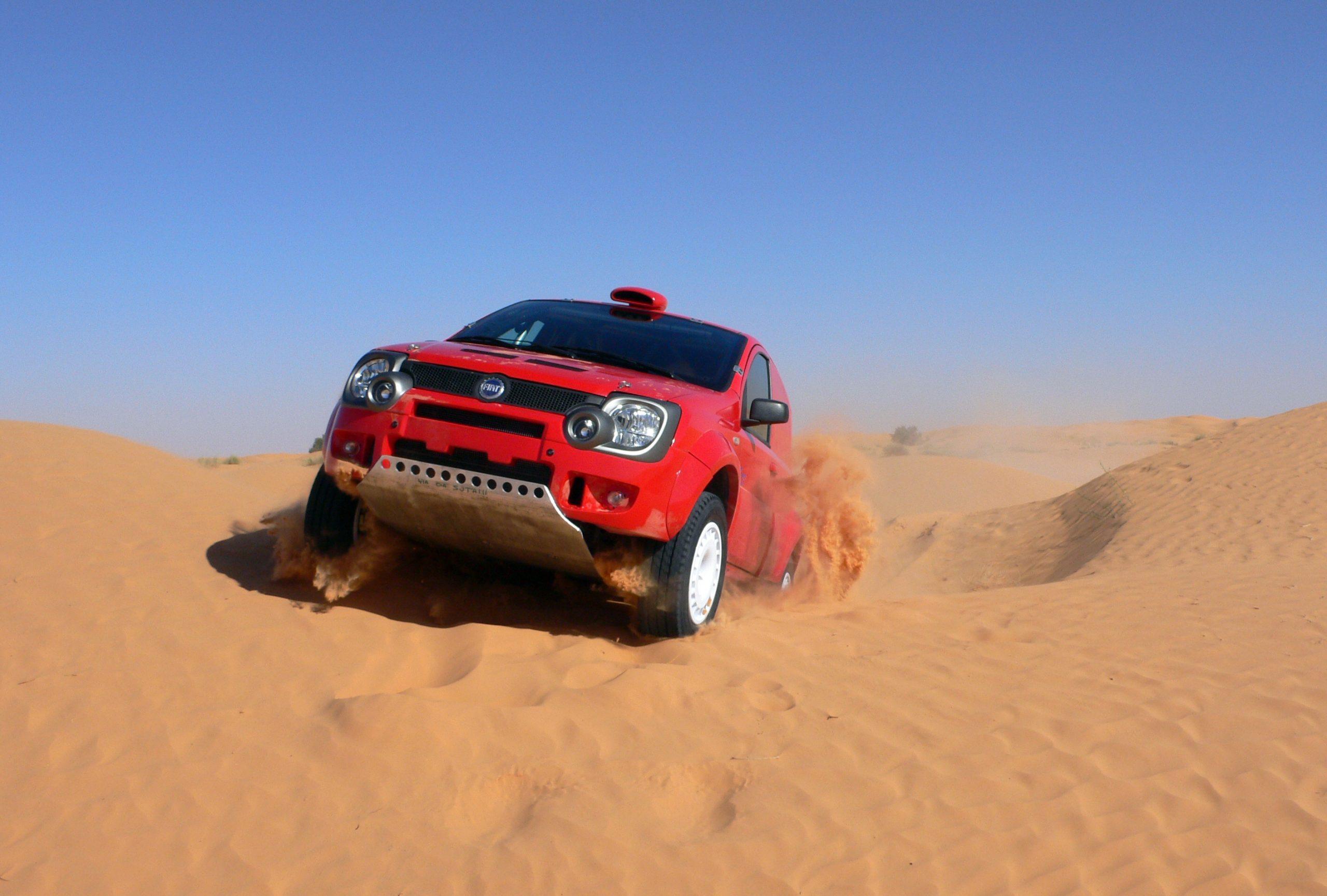 Fiat Panda Dakar-2007