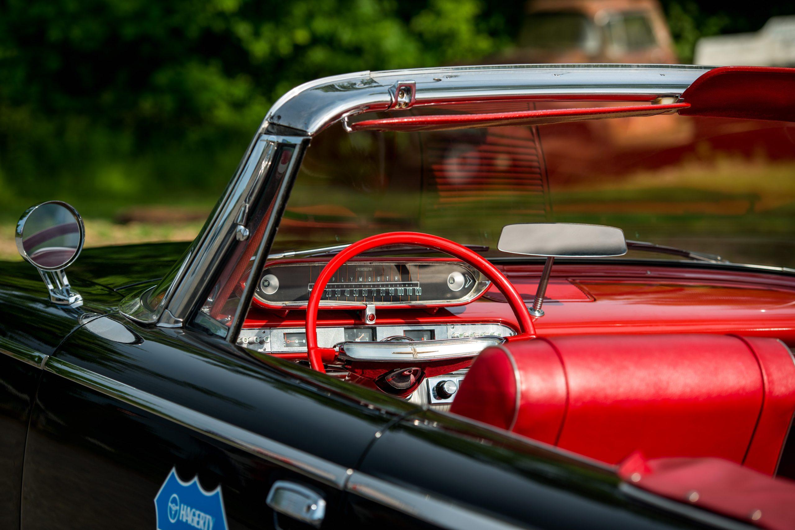 Plymouth Fury Steering Wheel Interior