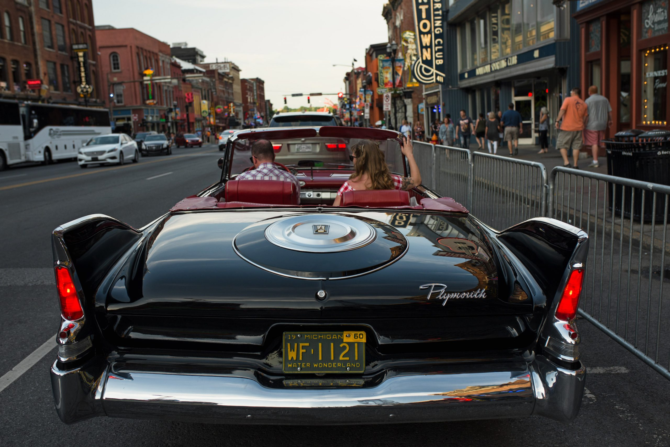 Plymouth Fury Rear
