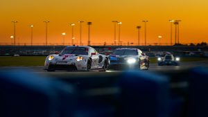 Porsche 911 RSR Daytona Sunset Action