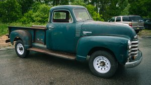 """""""It's Alive!"""" Davin takes our 1950 Chevy pickup for a drive 