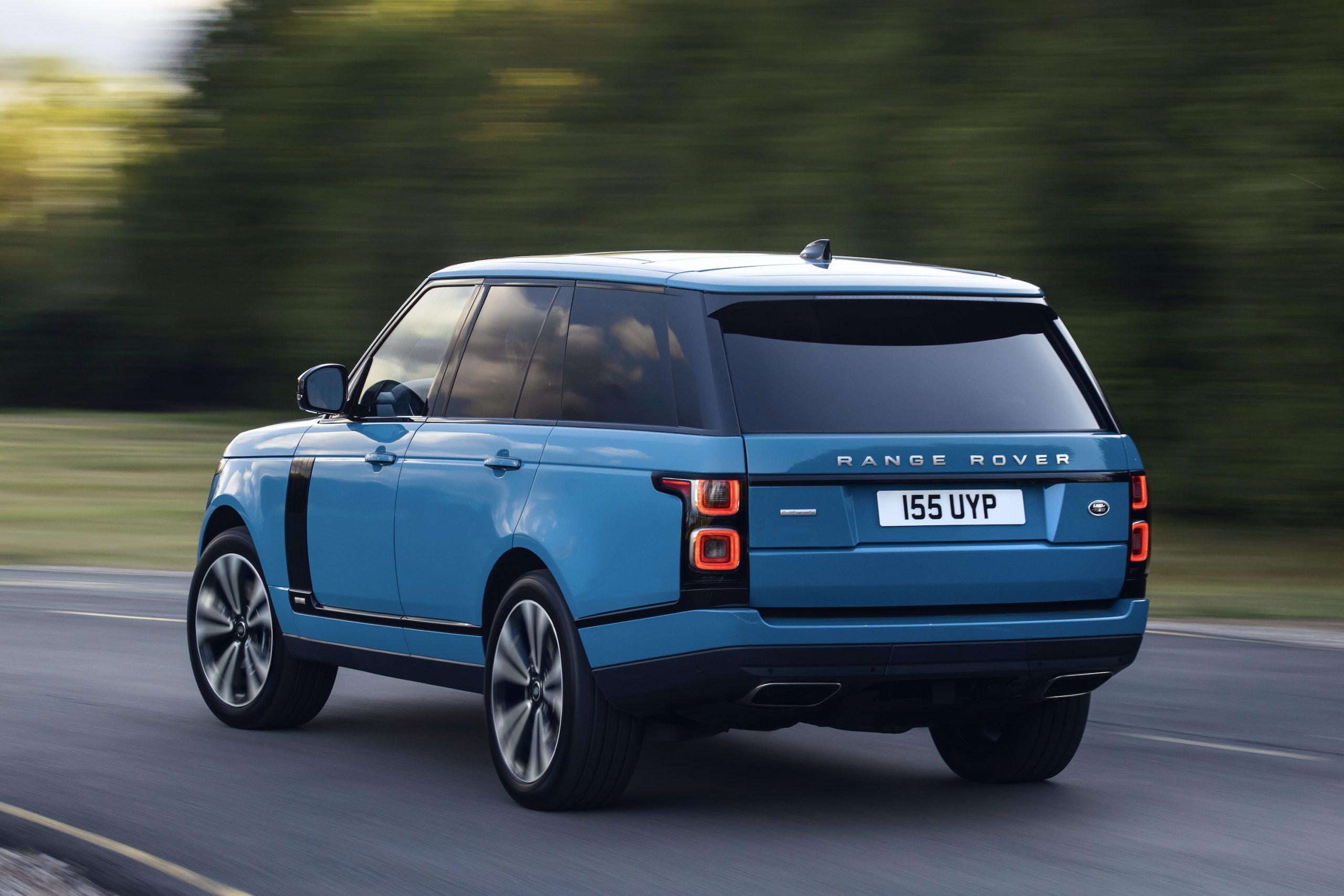 2021 Range Rover Rear Three-Quarter Action