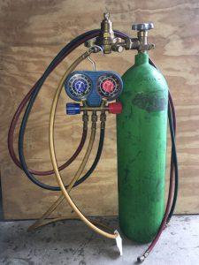 Rob Siegel - Pressure testing AC - Nitrogen bottle